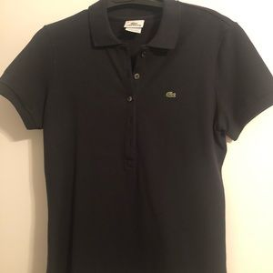Lacoste Navy Blue Women's Polo size 10 or 42